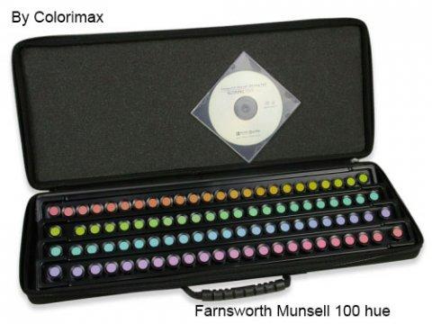 farnsworth-munsell 100 hue test