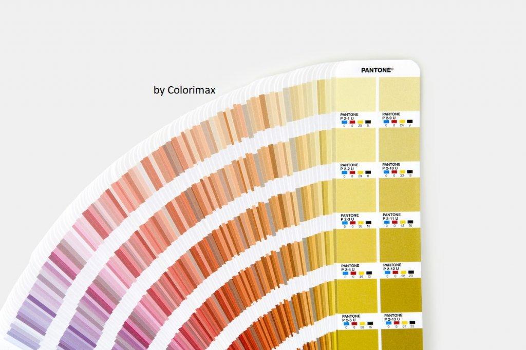 Nuancier Pantone Cmyk Guide Set Coated Uncoated Colorimax