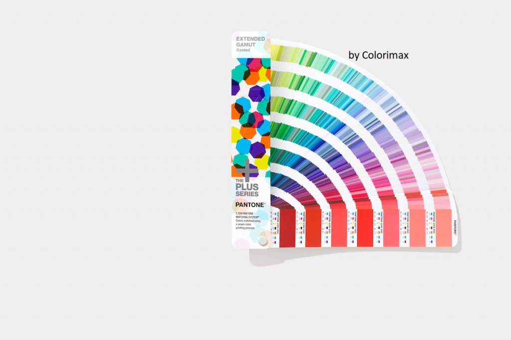 Nuancier Pantone Extended Gamut Coated Guide Colorimax