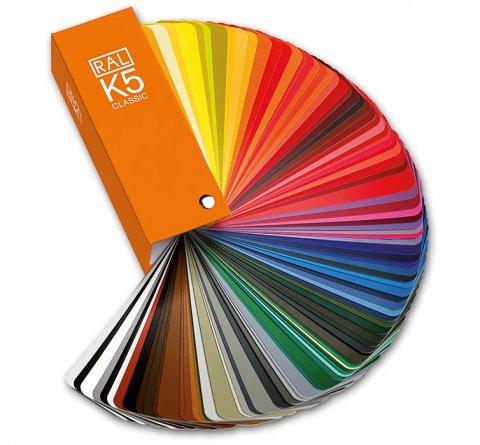 nuancier ral k5 brillant - Coloris Ral