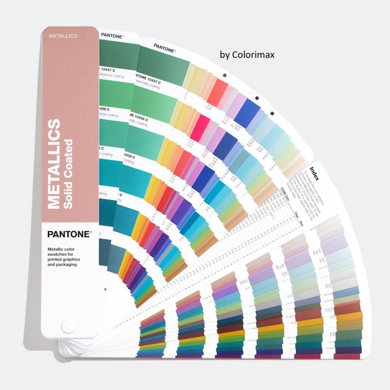 Nuancier Pantone Metallics Coated Guide Colorimax
