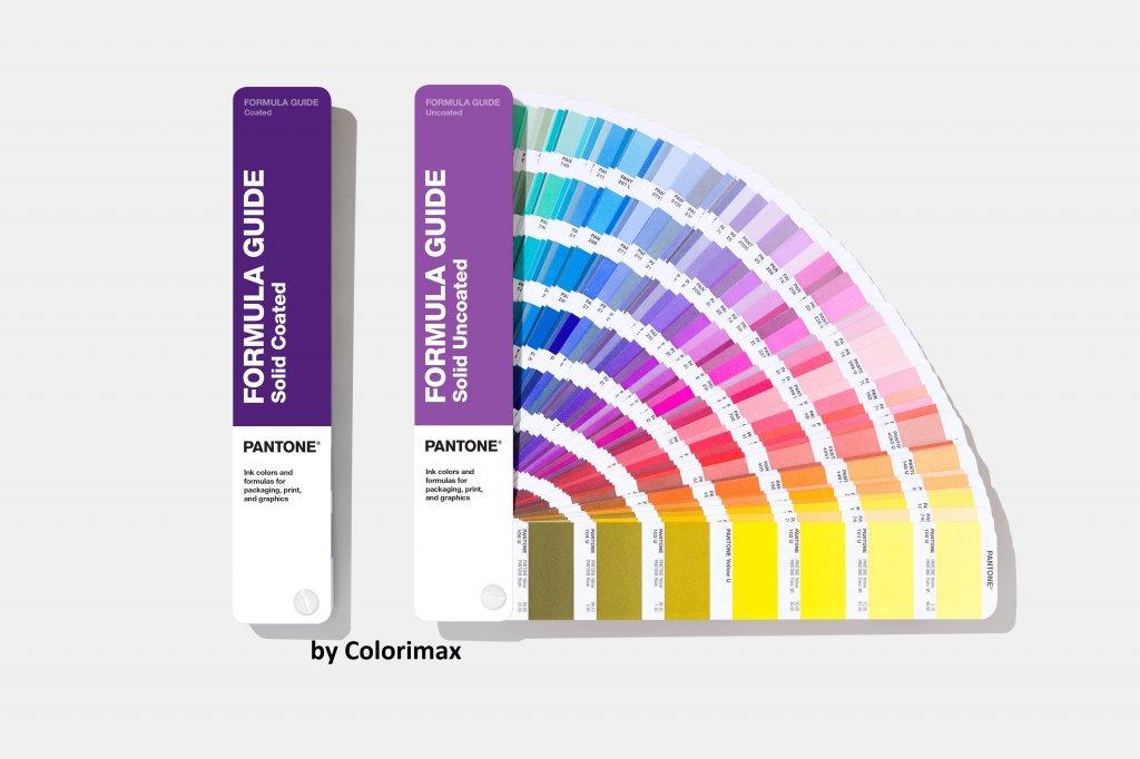 Nuancier Pantone Formula Guide Solid Coated Uncoated Colorimax